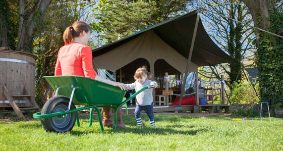 fun safari tent holidays