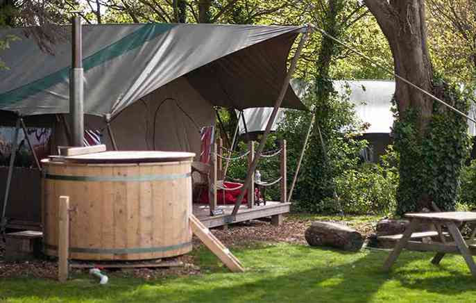 ... Safari tent hot tub ... : hot tents - memphite.com