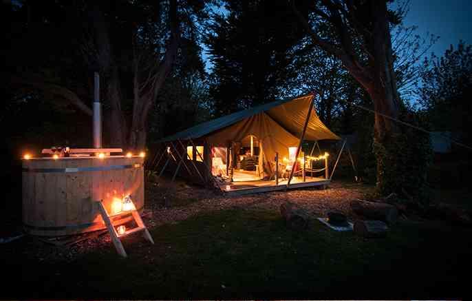 Safari Tents Toms Eco Lodges Isle Of Wight Uk