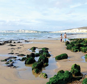 compton bay best swimming beaches