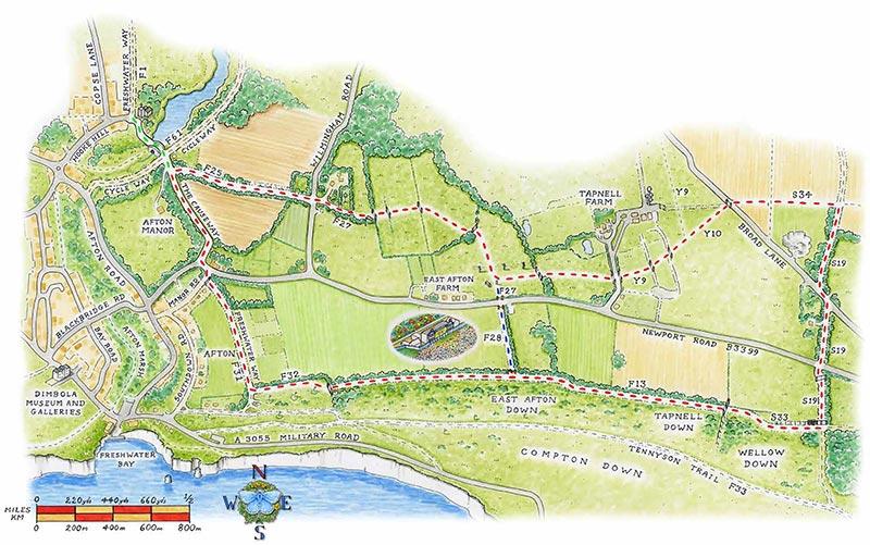 tapnell trail map