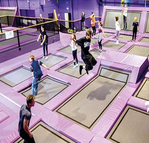 isle jump trampoline park rainy days