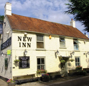 the new inn pint of ale