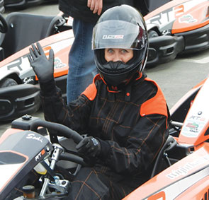 wight karting rainy days
